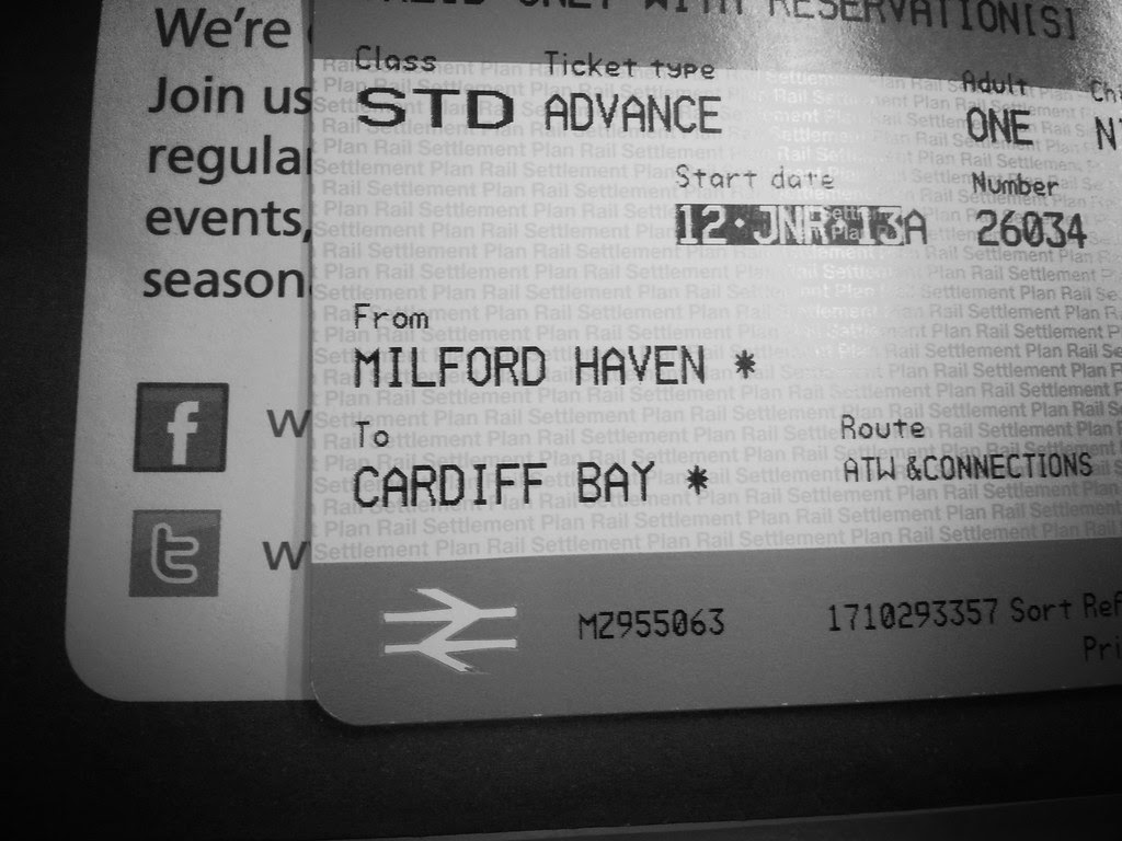 Milford Haven to Cardiff Train Ticket