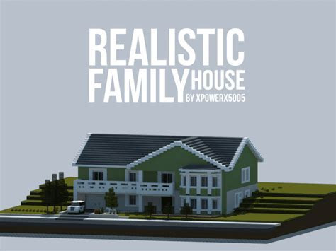 Realistic Family House ? Minecraft House Design