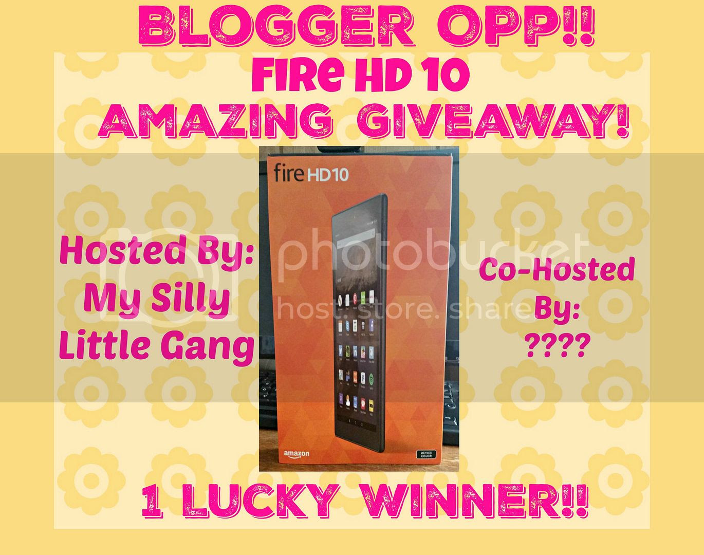 Blogger Opp Amazing Fire HD 10 Giveaway!