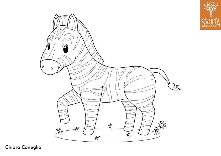 Più Recente Disegni Da Colorare Zebra Disegni Da Colorare