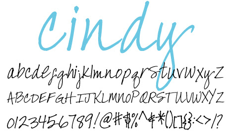 click to download Cindy