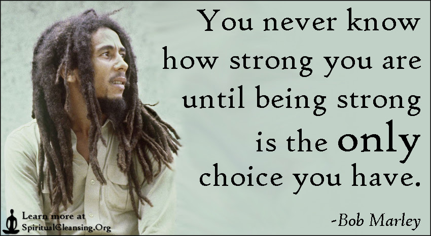 100 Really Powerful You Never Know How Strong You Are Quote