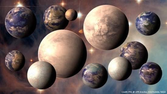 Via Láctea pode ter 17 bilhões de Terras