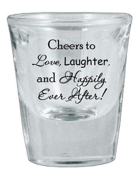 Items similar to 120 Personalized Wedding Favor Glass Shot