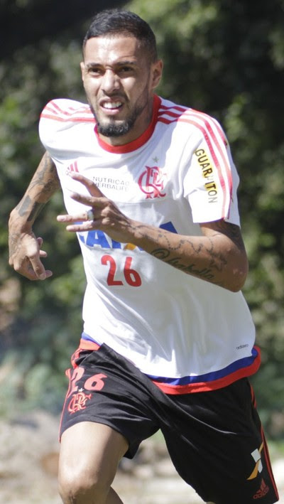 Paulinho, Ninho do Urubu, Flamengo (Foto: Gilvan de Souza/ Fla Imagem)