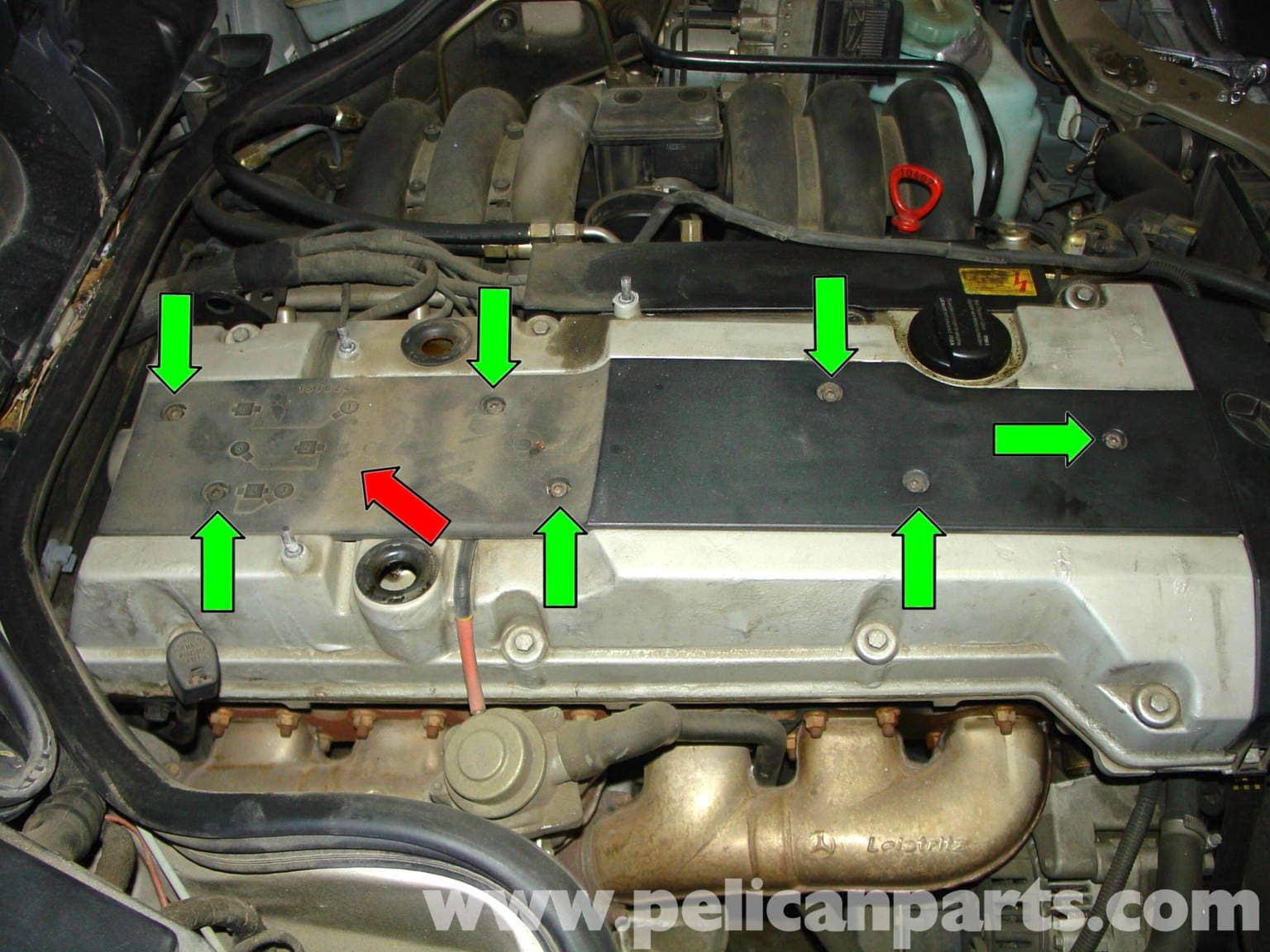 Mercedes-Benz W210 Fixing Common Vacuum Leaks (1996-03 ...