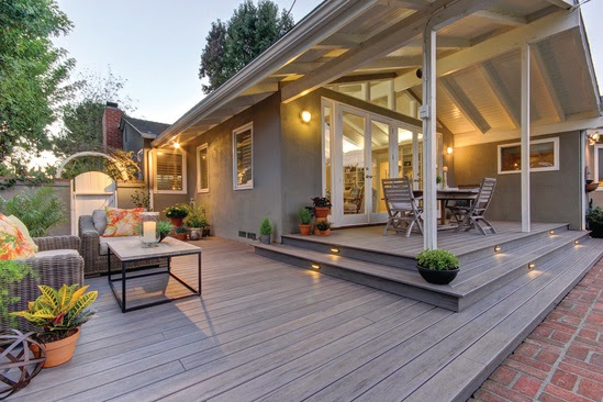 Ideas for Patios & Decks Using an Automatic Plant Watering ...