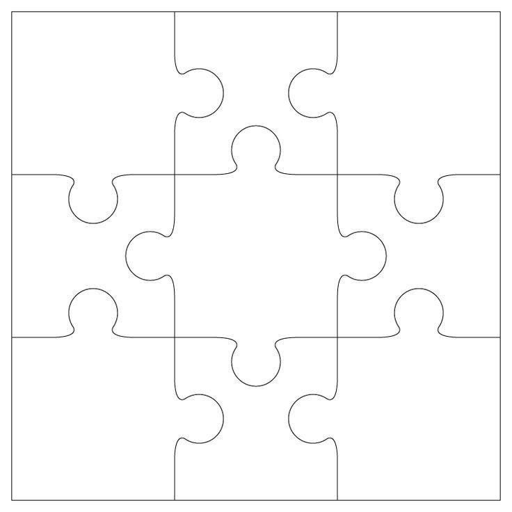 1000+ ideas about Puzzle Piece Template on Pinterest   Puzzles ...