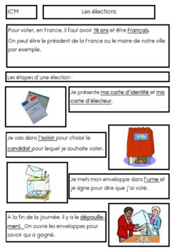 trace écrite sur les élections