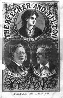 images from Beecher's adultary trial