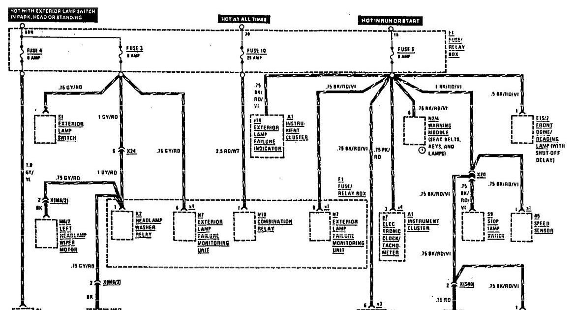 Book Info Benz Wiring Diagrams Color Code