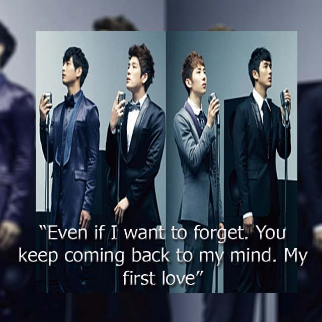Kpop Quotes Facts Images 2am First Love Wallpaper And Background