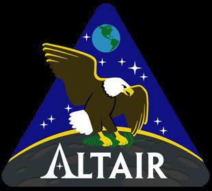 The ALTAIR logo that will be used by NASA on future lunar expedition missions by astronauts...hopefully starting in 2020.