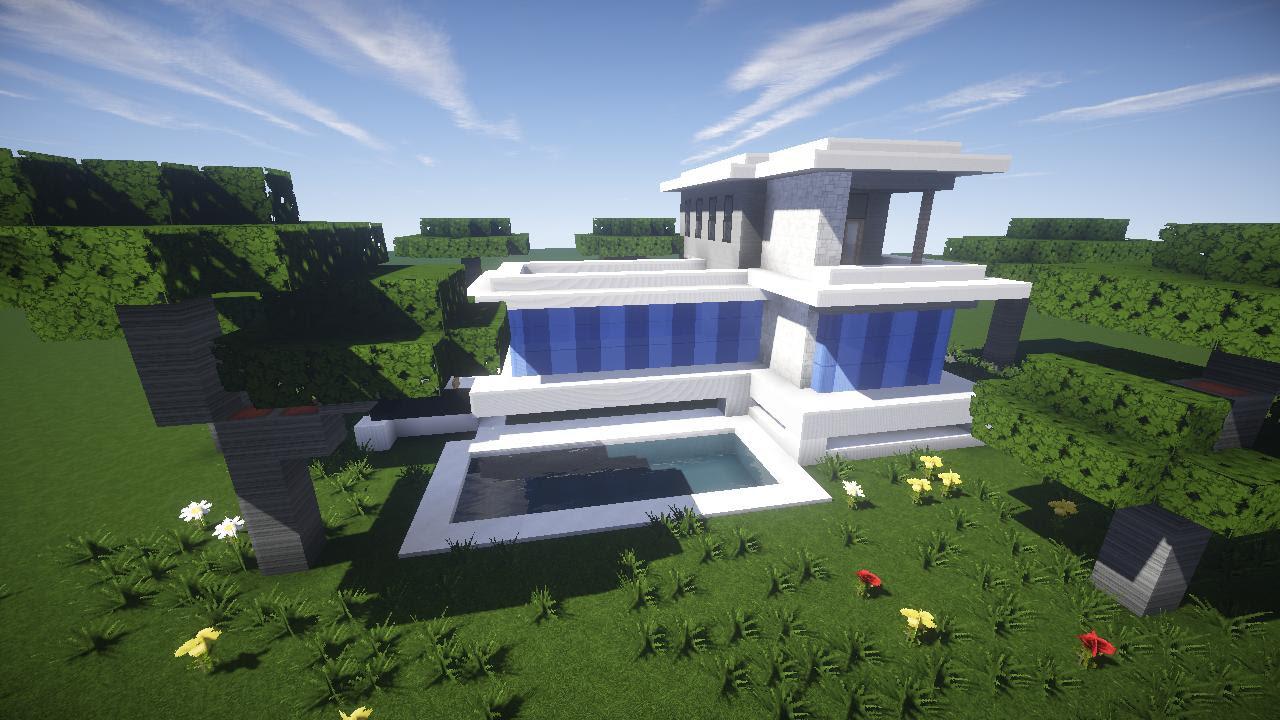 Modern House Build - Creative Mode - Minecraft: Java ...