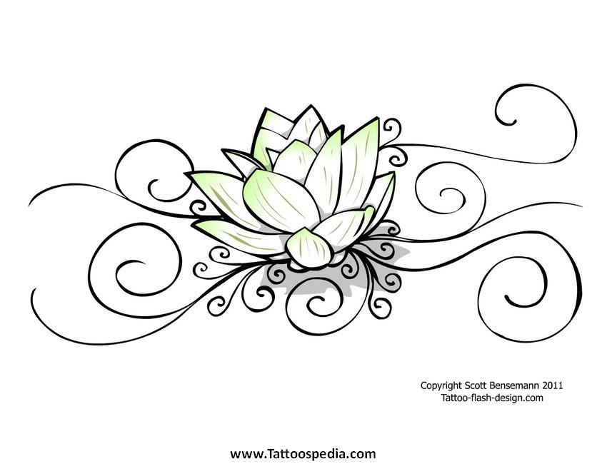 Gamemakertechinfo Images Simple Lotus Flower Outline