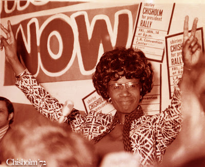 Holy Shirley Chisholm! A Change is a' Coming