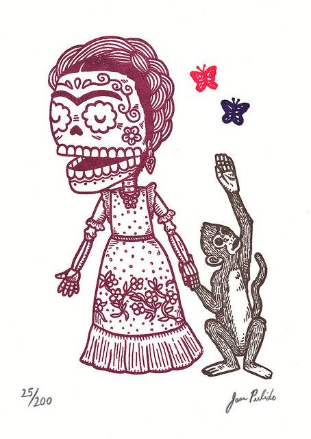 Dibujos De Frida Kahlo Para Colorear Imagui