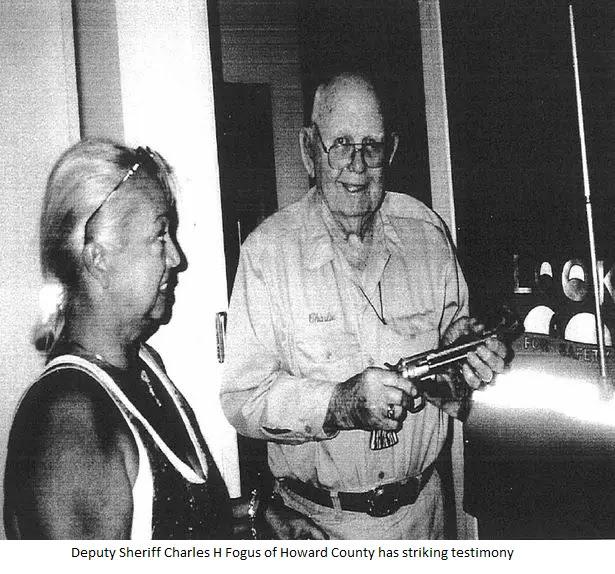 Sheriff Charles H Fogus