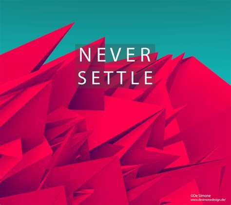 Cult of Android   Gorgeous 'Never Settle' wallpapers for