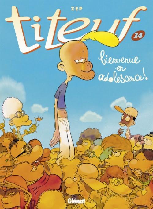 Couverture Titeuf, tome 14 : Bienvenue en Adolescence !