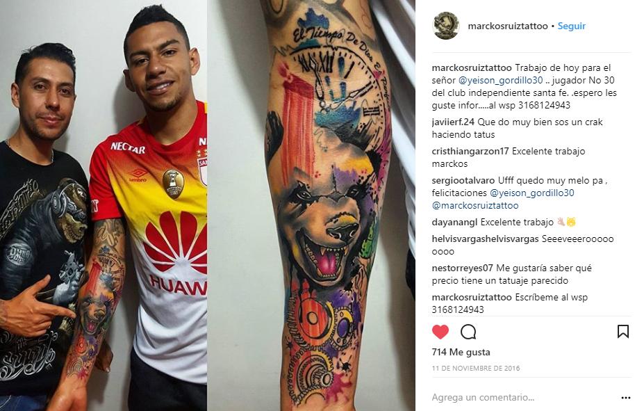 El Tatuador Del Fútbol Colombiano Blogs El Tiempo