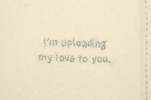 Robot Love Valentine Card (Inside Closeup)