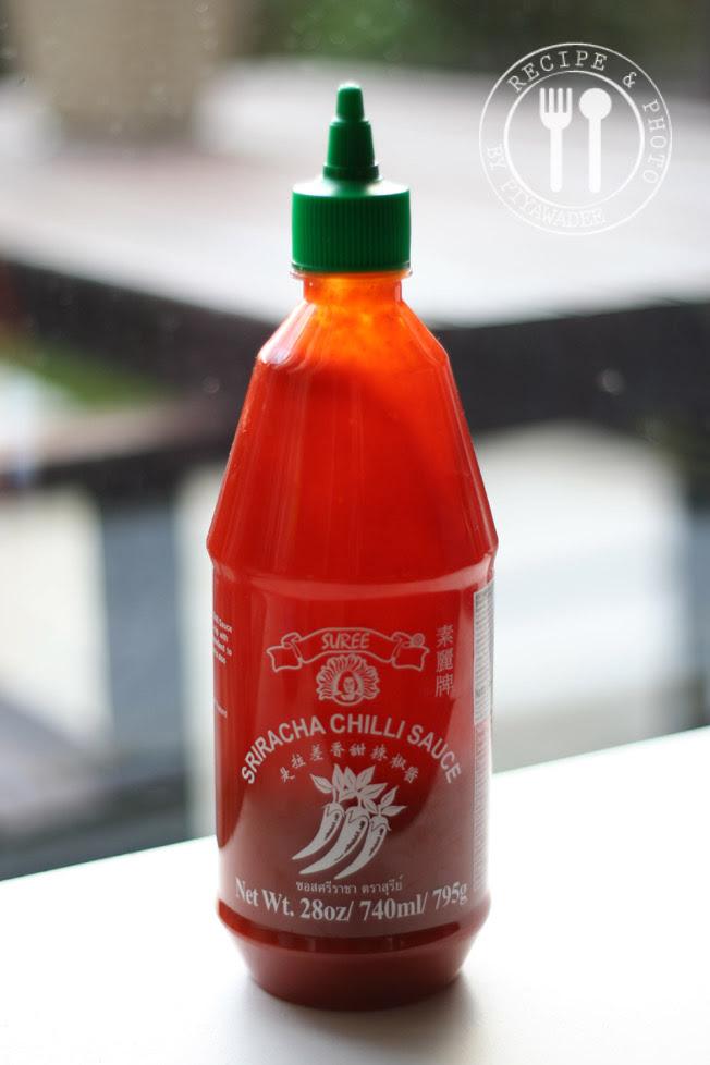 Sriracha Chili Saus of chili saus
