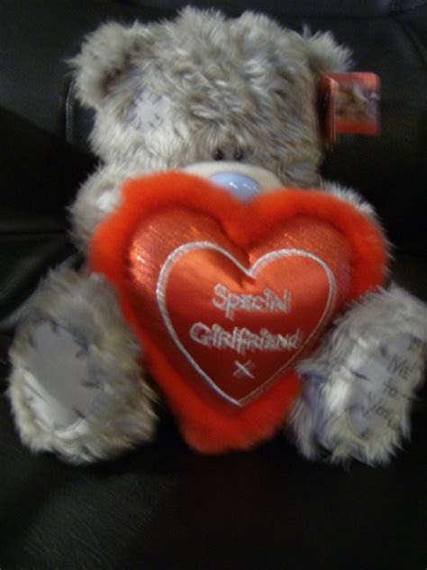 Me To You Tatty Teddy 12inch bear..special girlfriend..red