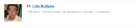 Nobody counts Colin McAlpine as a favorite