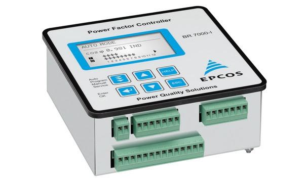 Controladores de factor de potencia BR7000 para redes industriales