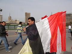 Flags street vendors