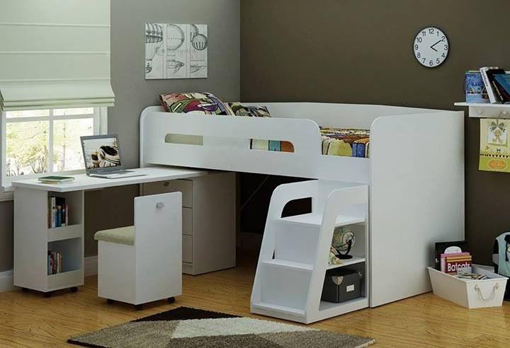 Bunk Bed Desk Combo Roole