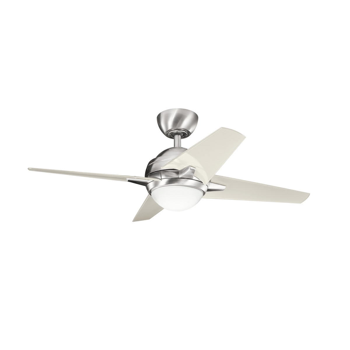 Hunter Hr21230 42inch White Ceiling Fan With Light Fan Light And Light Kit Included Ceiling
