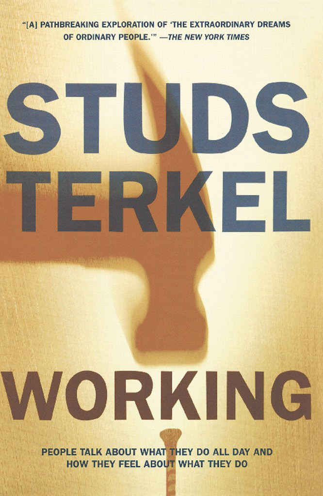 Working by Studs Terkel book cover