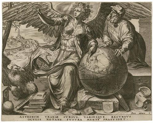 Astrologia -- Astrorvm Uraniae Cursus - Cornelis Cort 1565 (Cock, Floris) (Folger)
