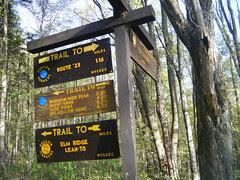 Elm Ridge Lean-to Hike