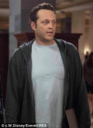Aubergine: Vince Vaughn's rounded shoulders gives him a body similar to the vegetable