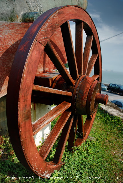 Fort Cornwallis - Time Wheel