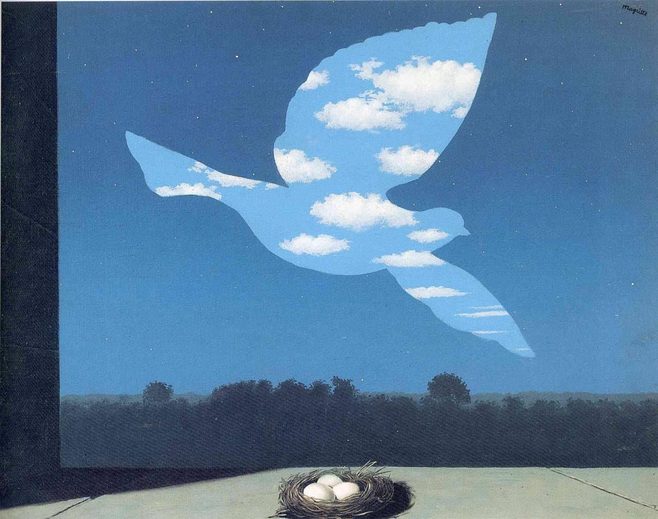 The Return, 1940 Rene Magritte