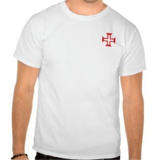 Order of Christ Cross on pocket Shirt zazzle_shirt
