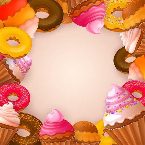 Dessert Dessert, Dessert, Sweets, Cake Background Image