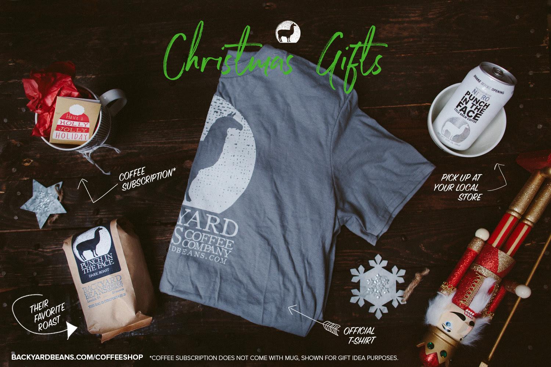 Christmas Coffee Gifts / Backyard Beans Coffee Co. — Backyard