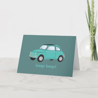 Beep Beep! Birthday Card