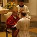 P. Josef Hare en las promesas de obediencia