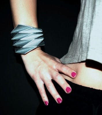 Concreate: DIY Project - Origami Bracelet