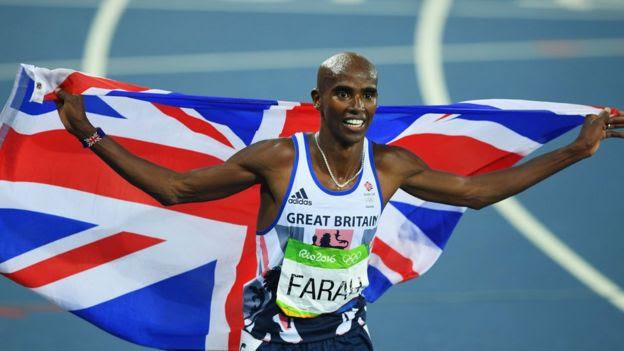 El legendario Mo Farah es el segundo hombre en ganar dos veces las carreras de 5.000 y 10.000 metros
