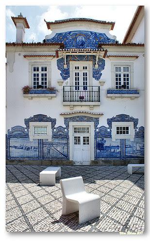 Vista parcial da Estação de Aveiro by VRfoto