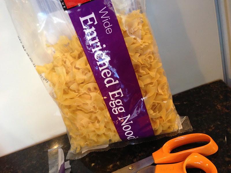 Handful of Egg Noodles
