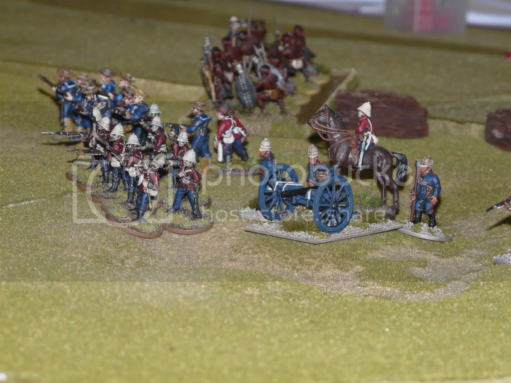 British Right Flank and Supporting NNC