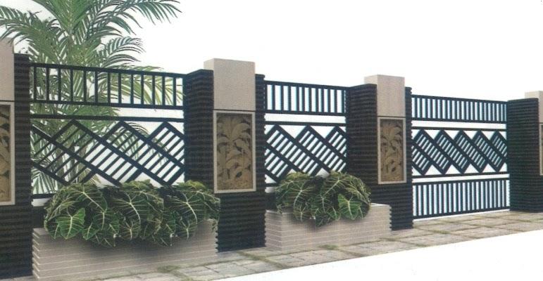 Desain Pagar Tralis Minimalis Rumah Zee